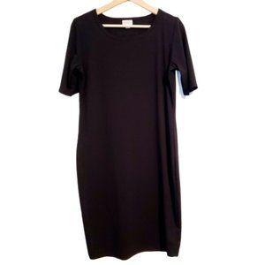 🎉🛒🎉 LulaRoe Julia Dress, Black, Size M
